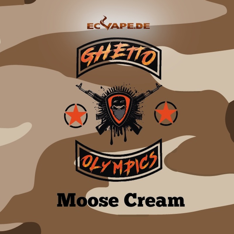 Ghetto Olympics Aroma Moose Cream 10 ml für 60 ml – Bild 1