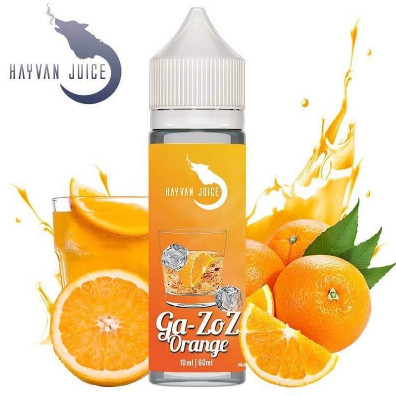 Hayvan Juice Ga-Zoz Orange Longfill Liquid 10 ml für 60 ml – Bild 1