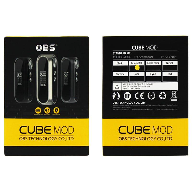 OBS Cube Akkuträger 80 Watt 3000 mAh – Bild 5