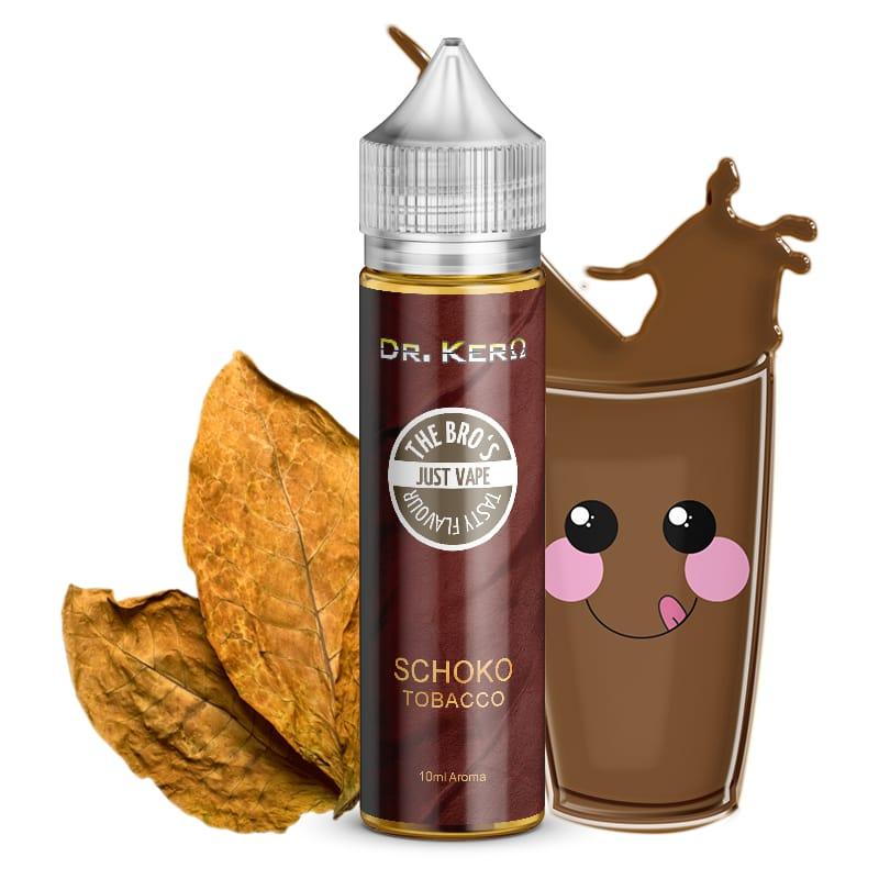 Dr. Kero X The Bros Schoko Tobacco Longfill 10 ml für 60 ml – Bild 1