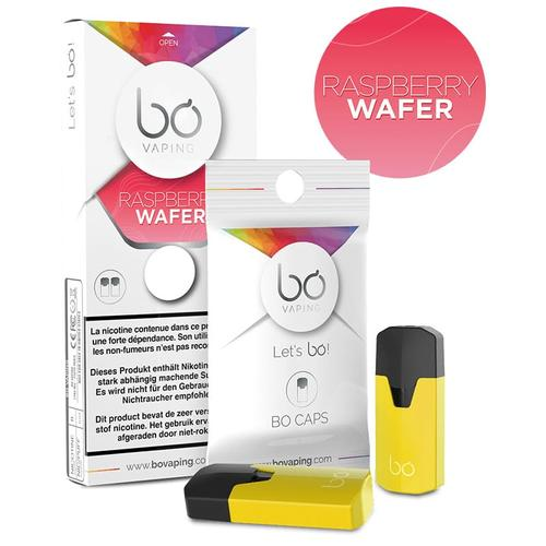 Bo Vaping Bo Caps Raspberry Wafer Liquidpods 2er Pack