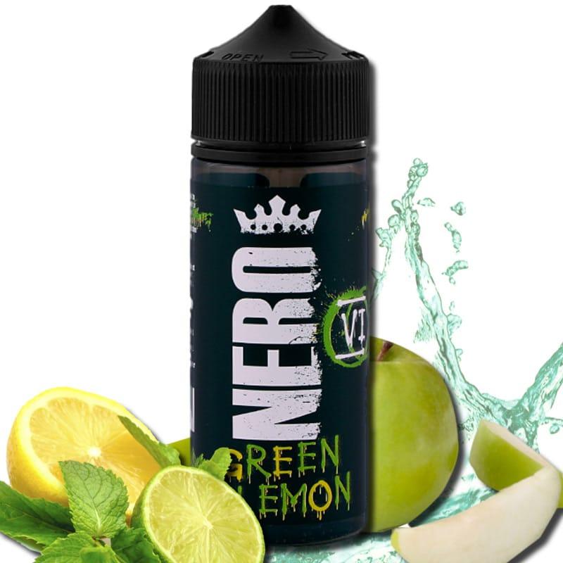 Nero Flavours Green Lemon Longfill Aroma 12 ml für 120 ml – Bild 1