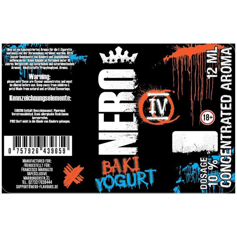 Nero Flavours Baki Yogurt Longfill Aroma 12 ml für 120 ml – Bild 2