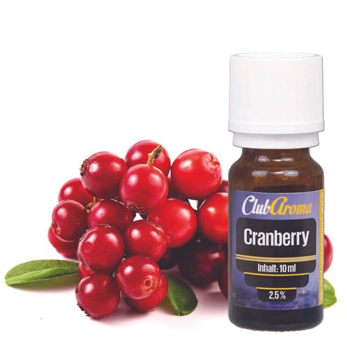Club der Dampfer Club Aroma Cranberry 10 ml