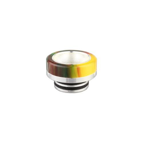 810er DripTip Widebore kurz 6 mm Edelstahl Resin