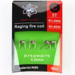 Demon Killer Ni80 Raging Fire Fertigcoil Typ C (4 Stück) - Bild Nummer 1