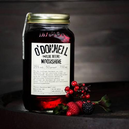 O`Donnell Moonshine Likör Wilde Beere 25% vol 700 ml