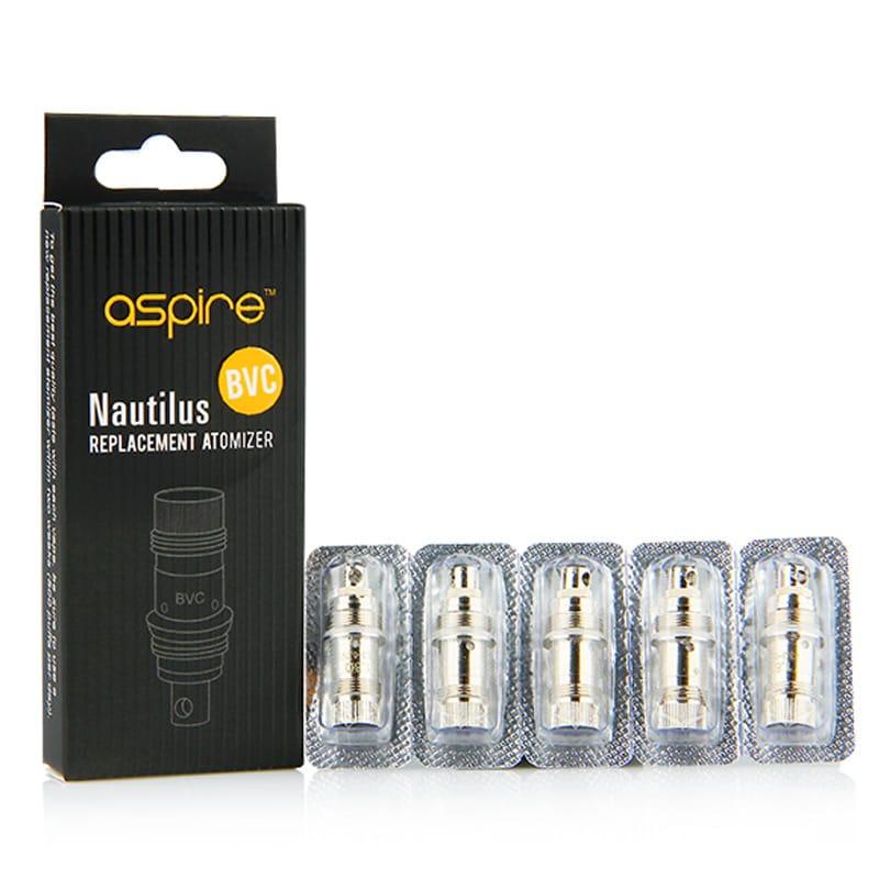 Aspire Nautilus BVC Verdampferköpfe 1.6/1.8 Ohm 5er Pack – Bild 2