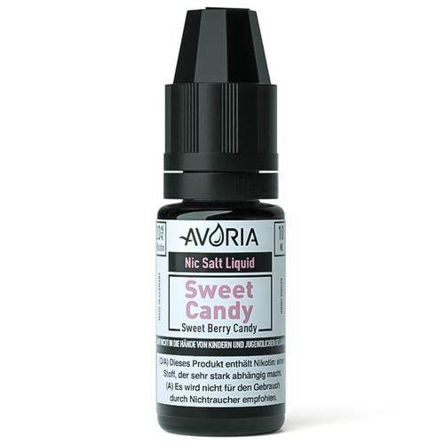 Avoria Sweet Candy Nic Salt eLiquid 20 mg 10 ml