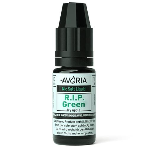 Avoria RIP Green Nic Salt eLiquid 20 mg 10 ml