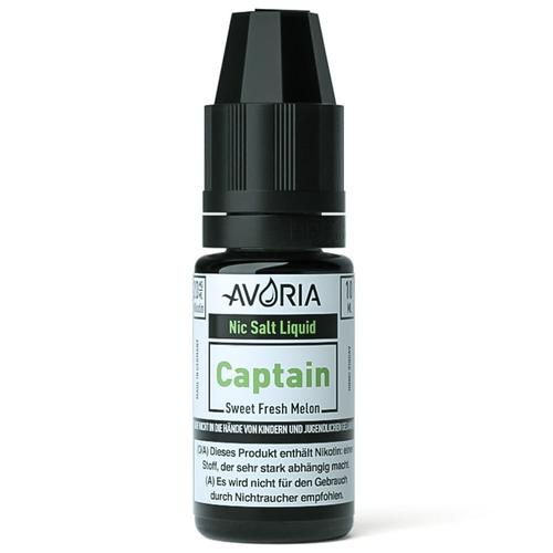 Avoria Captain Nic Salt eLiquid 20 mg 10 ml