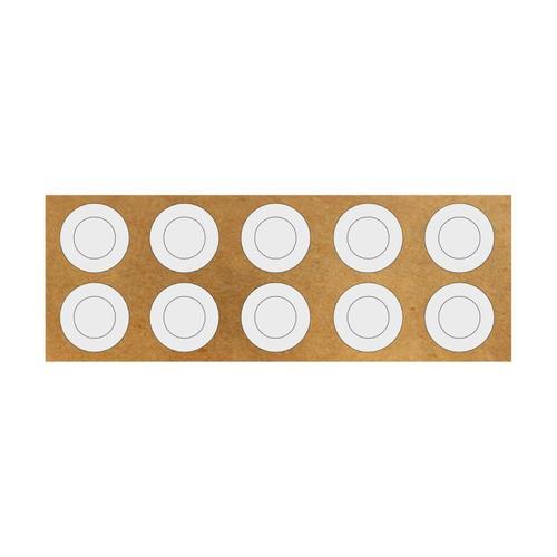 Isolierringe aus HPVC für 18650er Akkus 10er Pack