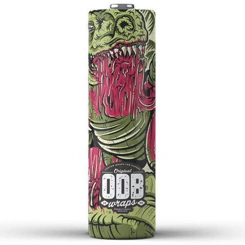 ODB Wraps 18650er Schrumpfschlauch Dino v2 4er Pack