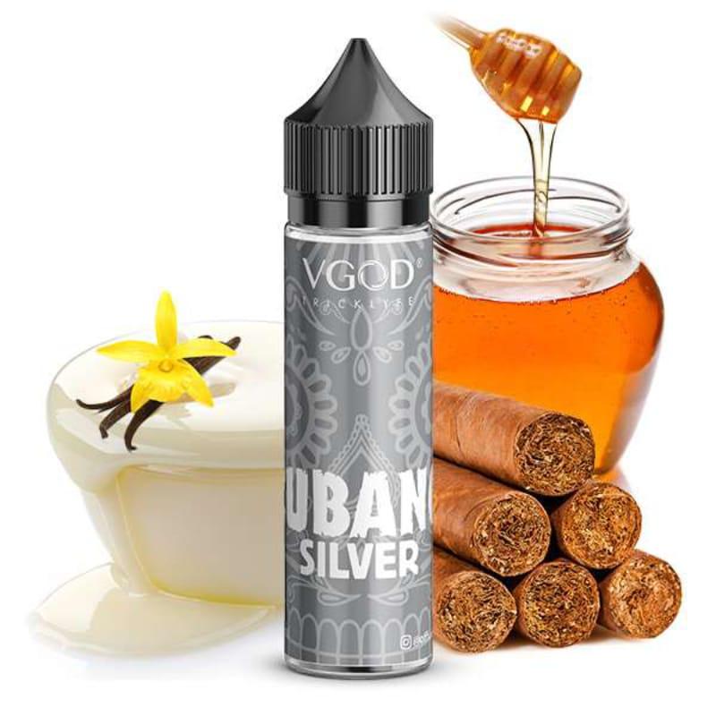 VGOD Cubano Silver Longfill Aroma 20 ml für 60 ml – Bild 1