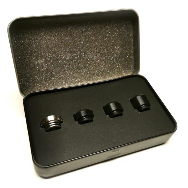 Goldrausch Royal Edition No. 1 810er Drip Tip Set glatt – Bild 1