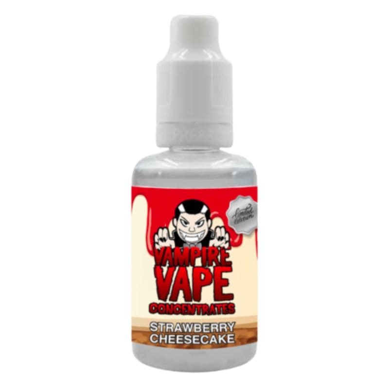 Vampire Vape Strawberry Cheesecake Premium Aroma 30 ml – Bild 1