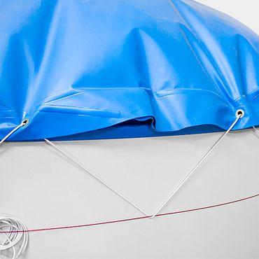 conZeroAir Winterabdeckung für Ovalbecken - Optimaler Schutz vor Schmutz, Regen und Schnee.