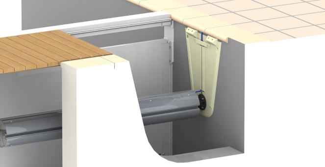 [Paket] Montage Satz für conZero Rechteckbecken für Unterflurrollladen IMM'Ax bestehend aus Schachtschalungen und Montagesatz
