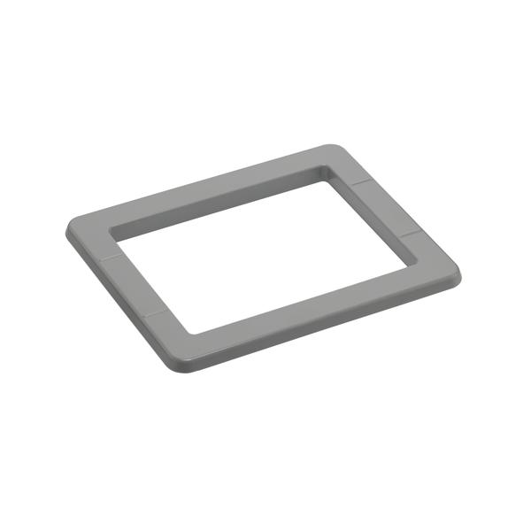 Skimmerblende für Einbauskimmer Ocean® PT deluxe für conZero Rechteckbecken - in grau