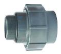 PVC d50 mm Schlauch Anschluss an LED Einlaufdüse