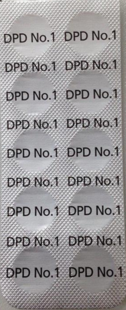 DPD No 1 Test Tabletten für elektronische Photometer