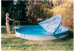 Cabrio Dome Überdachung für Ovalbecken Bild 3