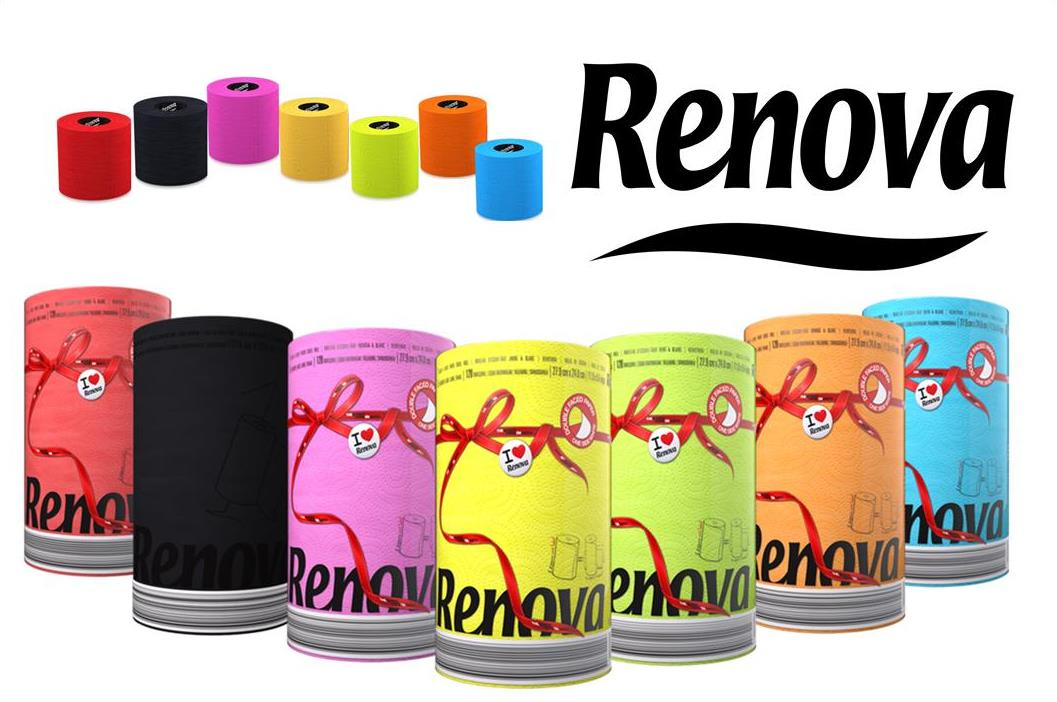 Renova-Toilettenpapier