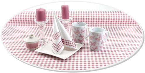 Papiertischdecke-rosa-kariert