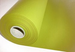Papiertischdecke Rolle stoffähnlich UNI kiwi grün - 25m x 1,2m