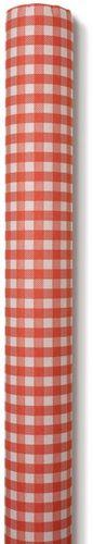 Airlaid Papiertischdecke für Biertische rot kariert 0,80x10m