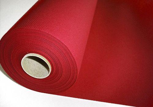 Papiertischdecke hochwertiges Airlaid UNI bordeaux - 25m x 1,2m