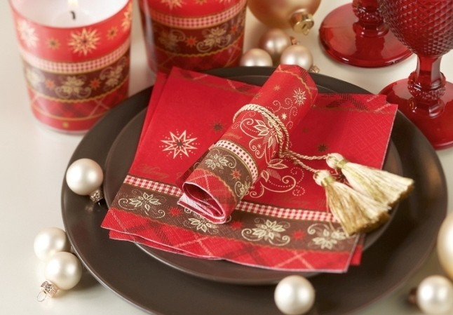 lunch serviette f r weihnachten bedruckt design alpine. Black Bedroom Furniture Sets. Home Design Ideas