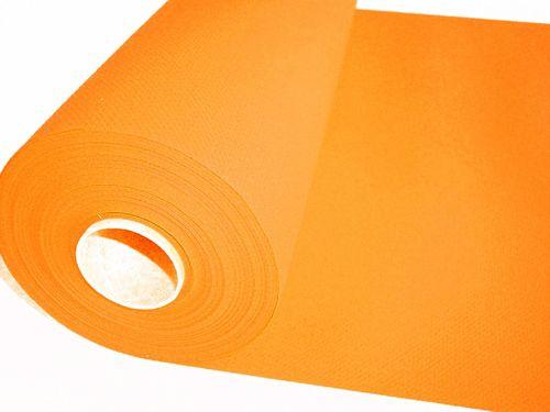 Airlaid Tischläufer UNI orange - 24m x 40cm