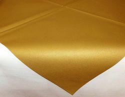 10 Airlaid Mitteldecken 80 x 80 cm - UNI gold