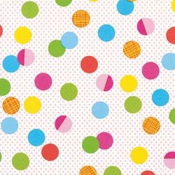 Airlaid Servietten 40x40cm - DESIGN PARTY DOTS