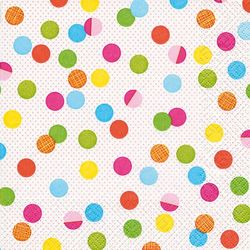 Lunch Servietten Punkte 33 x 33 cm - DESIGN PARTY DOTS 001