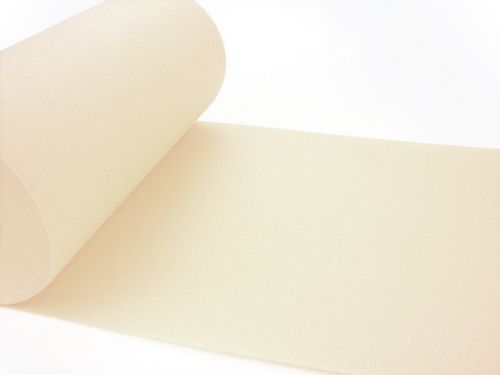 Airlaid Tischband UNI creme - 20 cm x 20 m