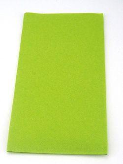 100 Light-Airlaid Mank Bestecktaschen UNI kiwi grün 40x40 cm