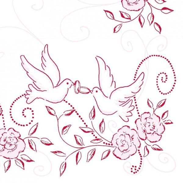 50 airlaid hochzeitservietten 40x40 cm design hochzeit rosa bordeaux servietten airlaid servietten. Black Bedroom Furniture Sets. Home Design Ideas