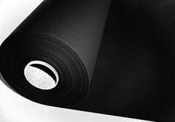 Papiertischdecke Rolle stoffähnlich UNI schwarz - 25m x 1,2m