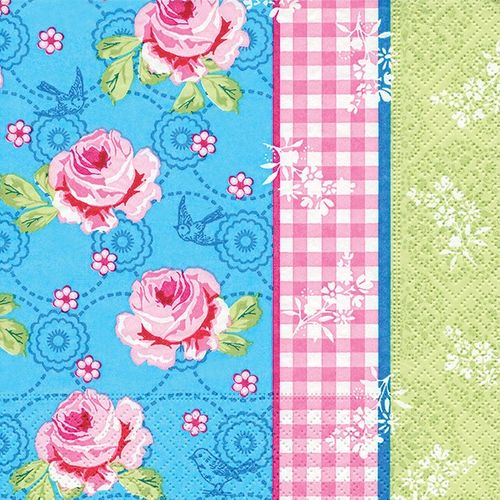 Lunch Servietten klassisch - Design VINTAGE PATTERN