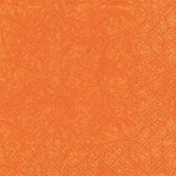 Lunch Serviette marmoriert 33x33 cm - Design Modern Colours ORANGE