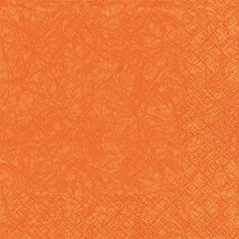 Dinner Serviette marmoriert 40x40 cm - Design Modern Colours ORANGE