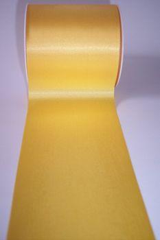 Tischband 7,2 cm - Seidensatinband WIDY gelb 001