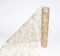 SIZOWEB ® Tischläufer 30 cm x 25 m - gelb gold