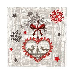 50 Papierservietten 25x25 cm Weihnachten - Design X-MAS HIGHLIGHTS