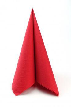 50 Mank Airlaid Servietten UNI rubin rot 40x40 cm 001