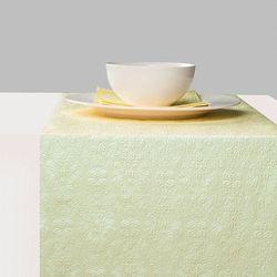 Geprägter Tischläufer - DESIGN ELEGANCE UNI pearl green