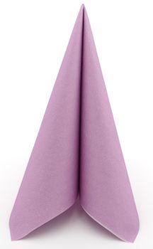 50 Airlaid Servietten stoffähnlich bedruckt 40x40 cm - UNI pastell lila