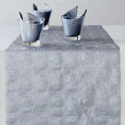 Geprägter Tischläufer - DESIGN ELEGANCE UNI silber